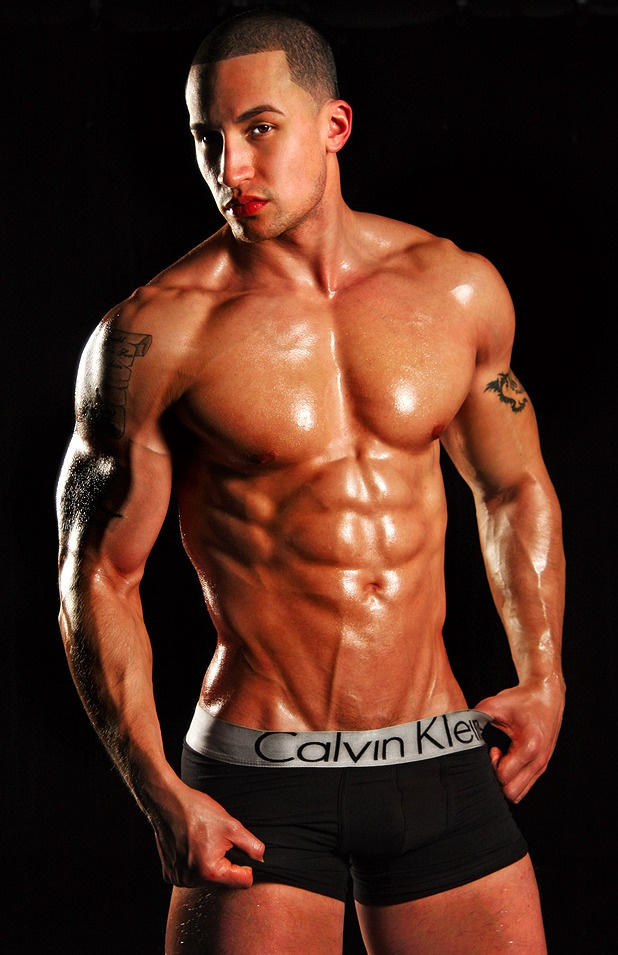 Male bodybuilders black nude