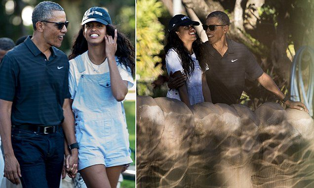 holding obama Boyfriend hands with