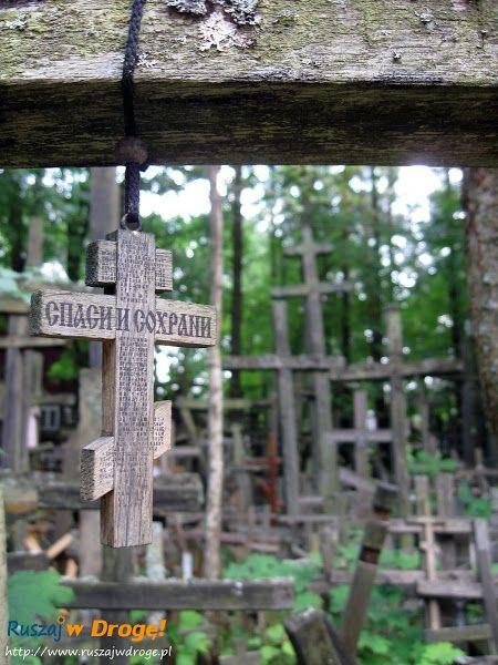 las krzyży w Grabarce, #Poland