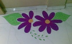 Ganpati Decoration Ideas Colorful Rangoli Designs