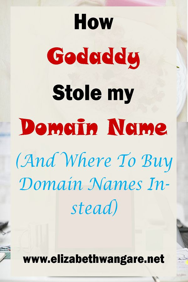 How GoDaddy Stole My Domain Name