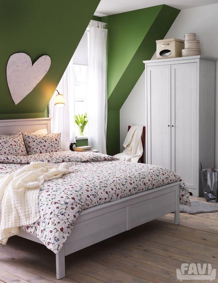 Provence ložnice inspirace - Zelené ložnice IKEA - Favi.cz