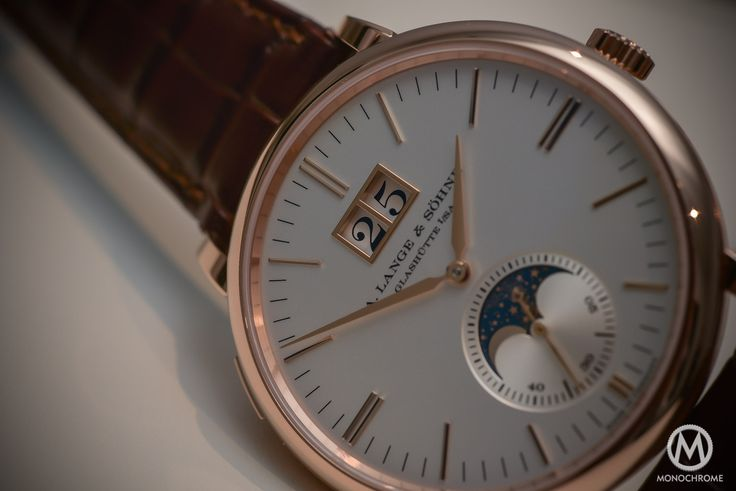 Lange Sohne Saxonia Moon Phase Automatic outisze date SIHH 2016 - _0610