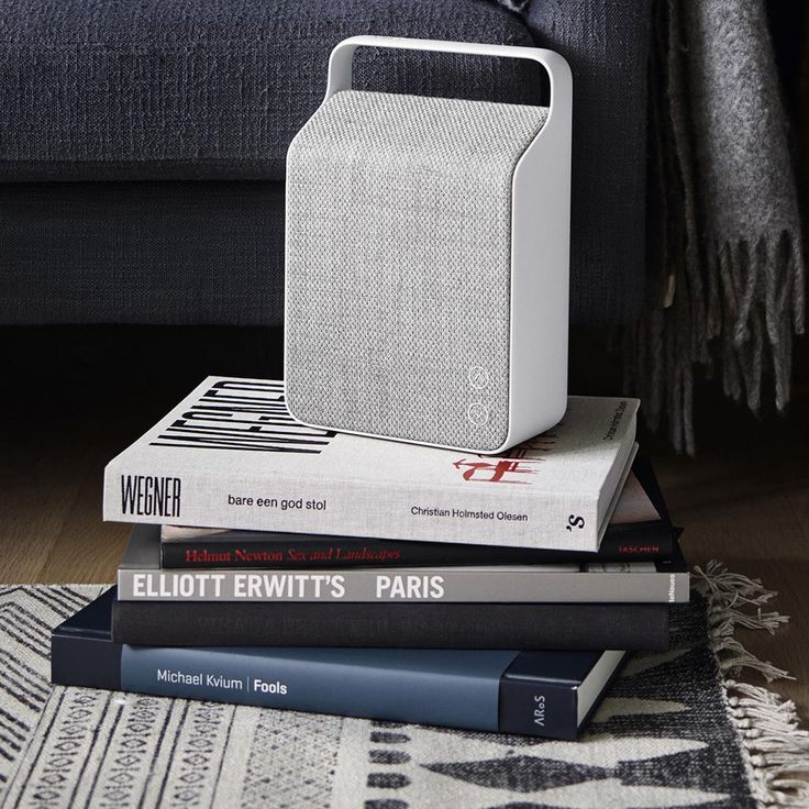 Oslo portable bluetooth speaker, by Forma Living.                                                                                                                                                                                 More