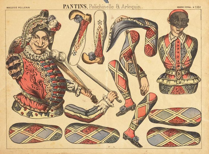 "I love late 1800's and early 1900's paper dolls; especially ""mechanical"" paper dolls.     These are paper dolls that come in ""parts"" that y..."