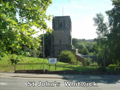 Picture St John the Baptist Whitwick