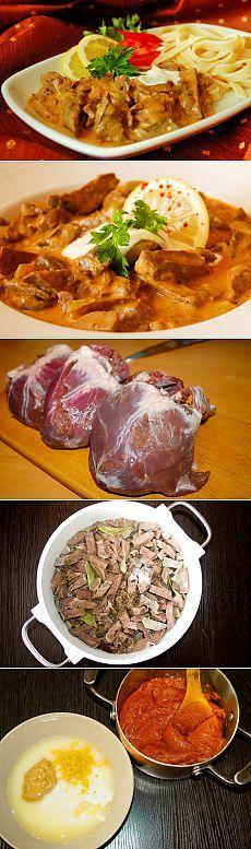 Традиционное венгерское блюдо из легкого и сердца — Вкусные рецепты