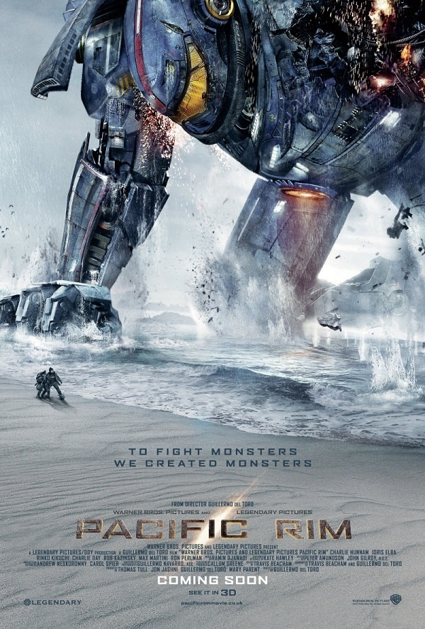 A monstrous Kaiju footprint in the new image of Pacific Rim