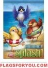 Summer Splash Garden Flag