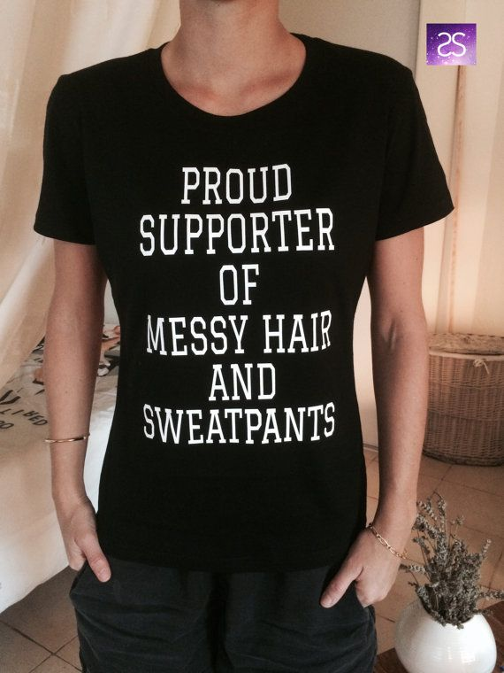 Welcome to Stupid Style shop :) For sale we have these great proud supporter of messy hair and sweatpants t-shirts! Very popular on sites like