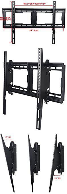 "Samsung Wall Bracket. VideoSecu Mounts Tilt TV Wall Mount Bracket for Most 23""- 75"" Samsung, Sony, Vizio, LG, Sharp LCD LED Plasma TV with VESA 200x100 400x400 to 600x400mm, Bonus HDMI Cable and Bubble Level MF608B BBM.  #samsung #wall #bracket #samsungwall #wallbracket"