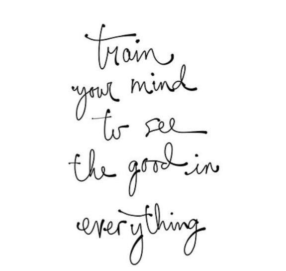 Train your brain now to be positive! ★