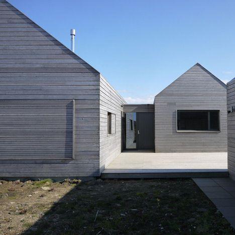 Borreraig House on a Scottish island by Dualchas Architects. Image via Dezeen.