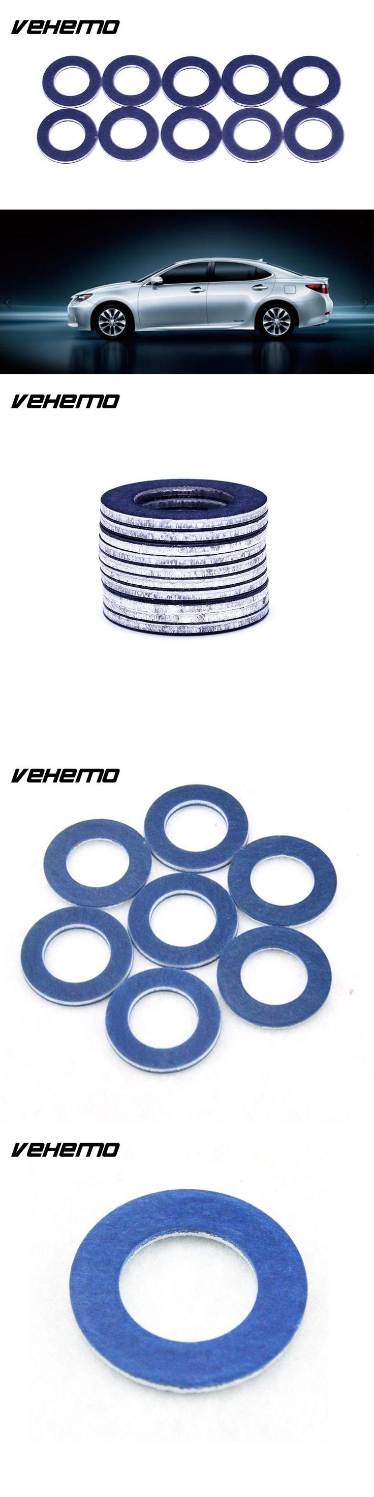 Vehemo 90430-12031 Drain Plug Gaskets Accessories Oil Drain Plug Washer Premium Cover for Lexus Toyota Parts