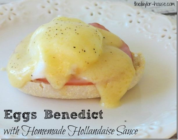 Eggs Benedict with Homemade Hollandaise Sauce might just be my favorite breakfast ever and with this recipe? It will be yours too!