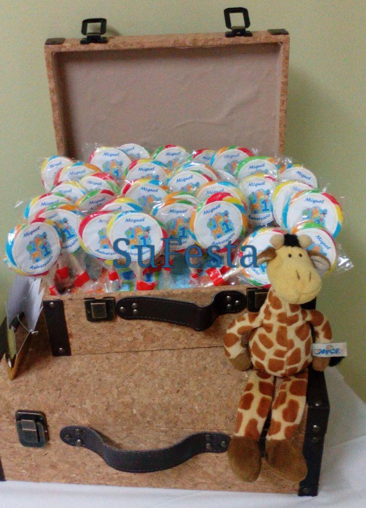 Wild Party Kids Festa de aniversário - Selva miminhos personalizados