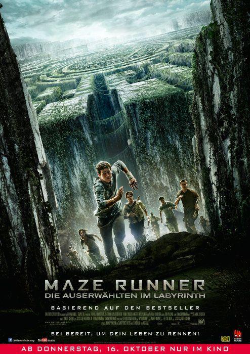 Poster zum Film: Maze Runner - Die Auserwählten im Labyrinth