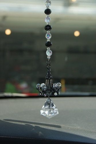 Rear View Mirror Car Chandelier By Monicashobby On Etsy 16 00