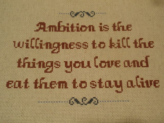 30 Rock quote - NEEDLEWORK