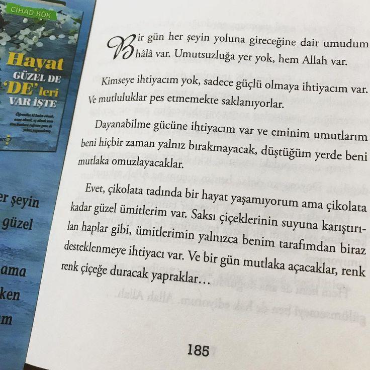 """Gefällt 691 Mal, 2 Kommentare - Cihad KÖK (@cihadkok) auf Instagram: """"""""Hayat Güzel de """"De"""" leri Var İşte"""" Bütün D&R Mağazaları, Kitapçılar ve Kitapyurdu.com'da...…"""""""