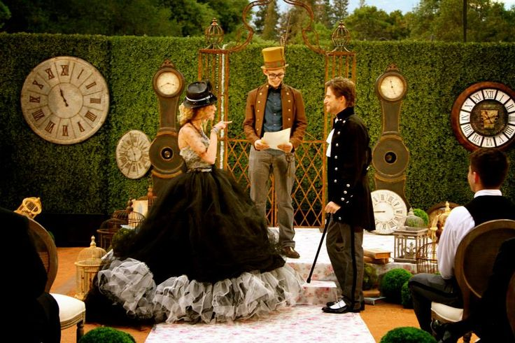 David Tutera Unveiled  Wonderland Wedding Fairytale Hair and Makeup