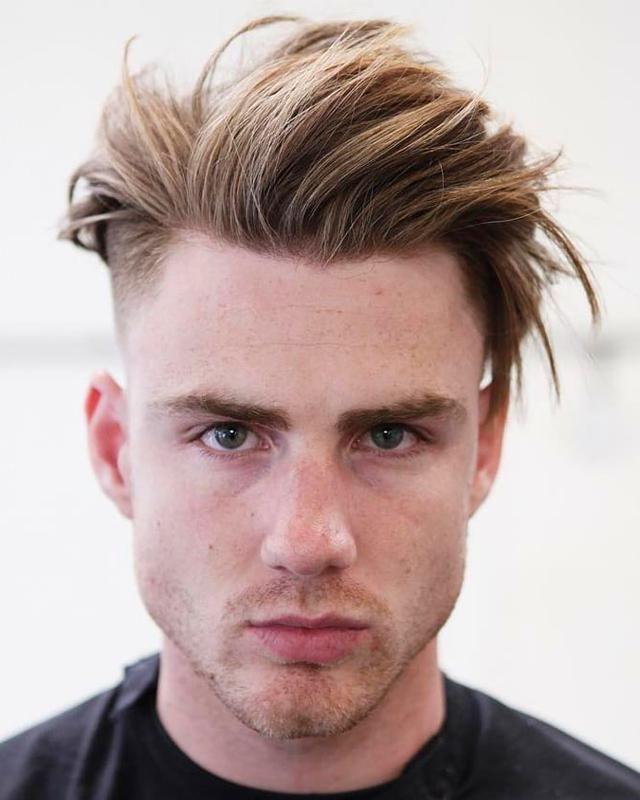 Men S Hair Styles Menshairstyles Men Blonde Hair Mens Hairstyles Bleached Hair Men