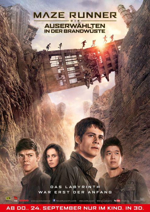 Poster zum Film: Maze Runner - Die Auserwählten in der Brandwüste
