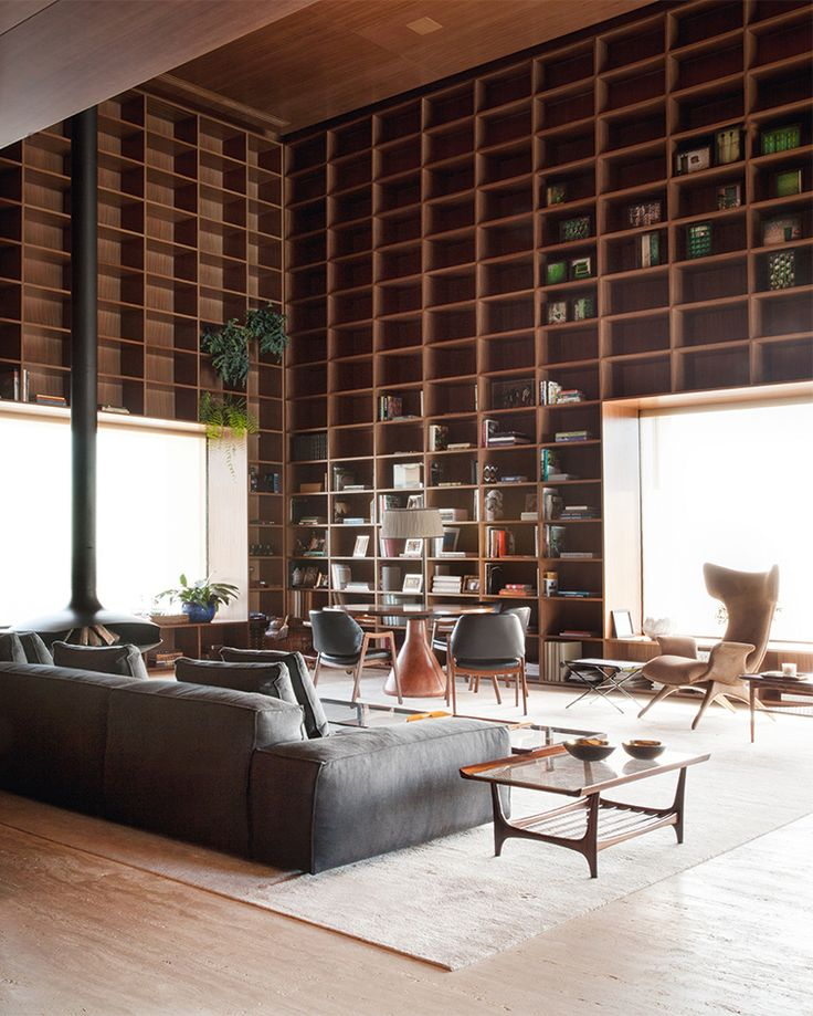 The SPenthouse In Sao Paulo Jungle House Two Fine Examples Of Brazilian Modernist Architecture By InteriorsHome