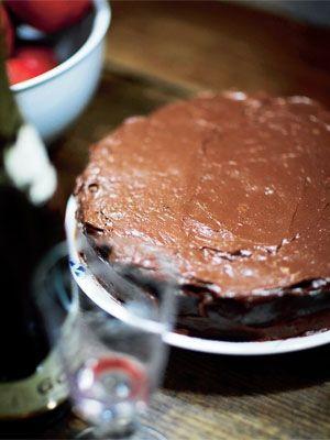 Mississippi mud pie opskrift med chokolade og marschmallows