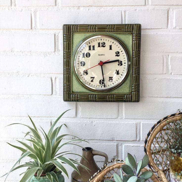 25+ parasta ideaa Pinterestissä Keramik uhr Bunzlauer,Uhr - küchen wanduhren design