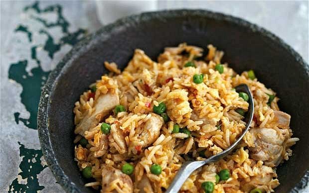 #StirFryRecipe Chinese Chicken Fried Rice