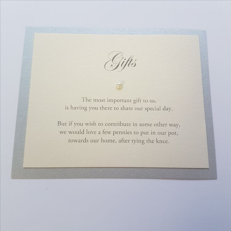 proper way to put names on wedding invitations%0A Gift Poem idea for a wedding invitation