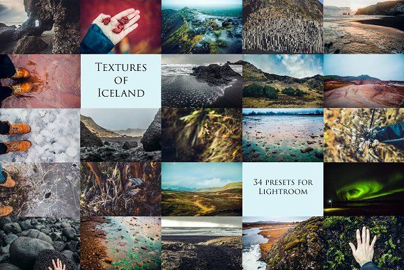 Textures of Iceland-34 presets forLr by Krisp_Krisp on @creativemarket