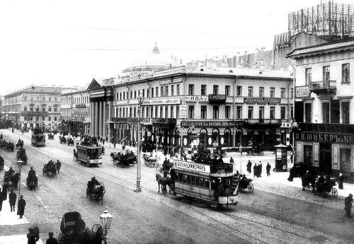 Avenue du cinema: Невский проспект (1896–1917 годов) – Журнал «Сеанс»