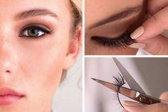 Les faux cils sont les accessoires parfaits pour un maquillage de fête. Apprenez à les poser facilement avec ce tutoriel en images pour avoir des yeux de biche.