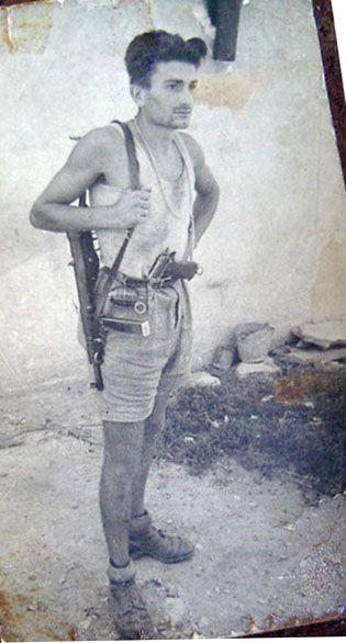 Brigate Garibaldi - Divisione Armando - Il Comandante di Battaglione Tenente Dartagnan (Alberto Cotti)