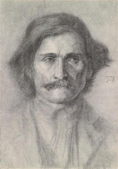 Egon Schiele, Ungarischer Hirte, 1907