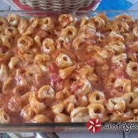 Τορτελίνια με ντομάτα στο φούρνο