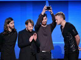 Imagine dragons Wins and AMA Award
