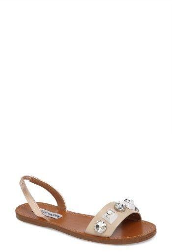 Women's Steve Madden Ameline Embellished Flat Sandal