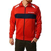 Polo Sport Ralph Lauren Men's Long Sleeve Zip Up Jacket -- Details can be found by clicking on the image.
