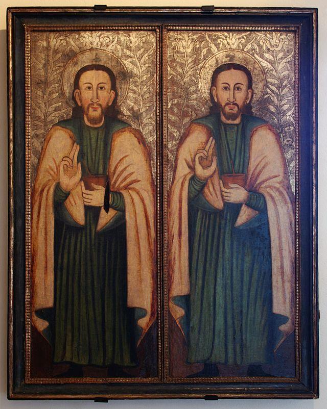Heilige Cosmas en Damianus