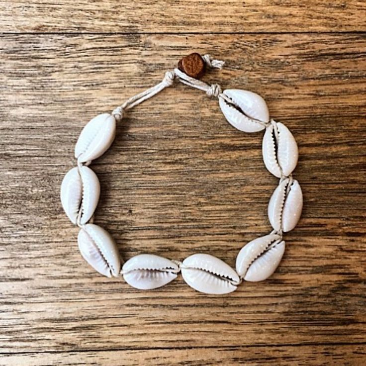 Cowrie Shell Anklet and Braclet || Available in our 'Mermaid' Collection || Also has a matching necklace || www.indieandharper.com