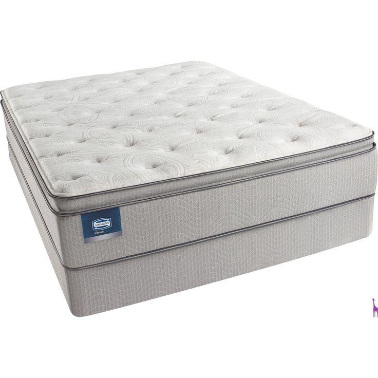 simmons beautysleep erica lux firm pillow topfull