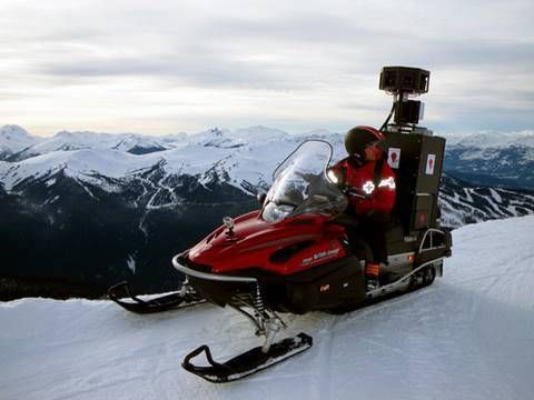 Introducing the Street View snowmobile