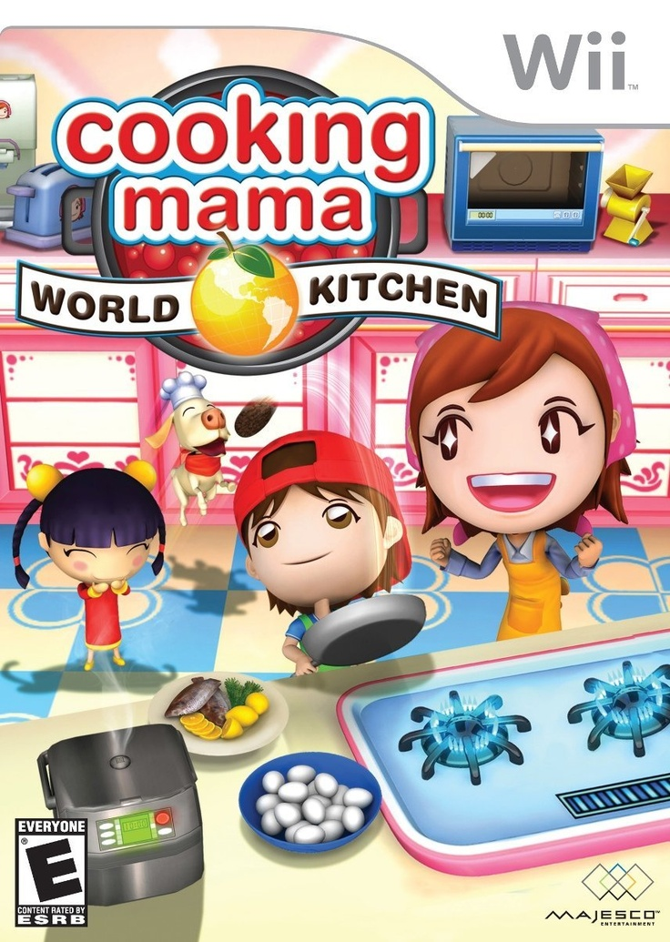 Cooking Mama World Kitchen Wii games, Wii, Mini games