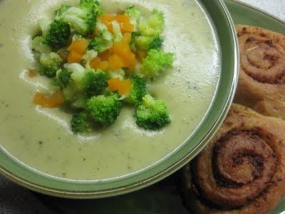 Kartoffel-broccolisuppe