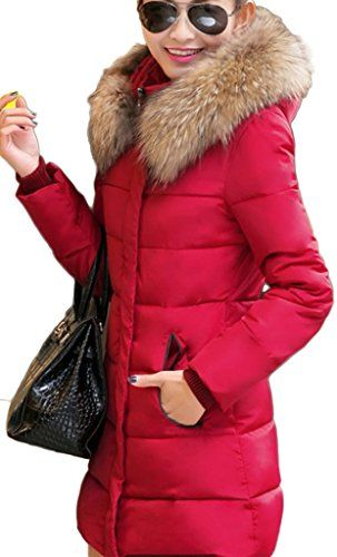 WenVen Women\u0026#39;s Thickened Down Jacket | Outdoor Clothes for Women ...