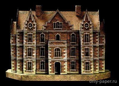 Starc Manor (RavensBlight) из бумаги, модели бумажные скачать бесплатно - Дом - Архитектура - Каталог моделей - «Только бумага»
