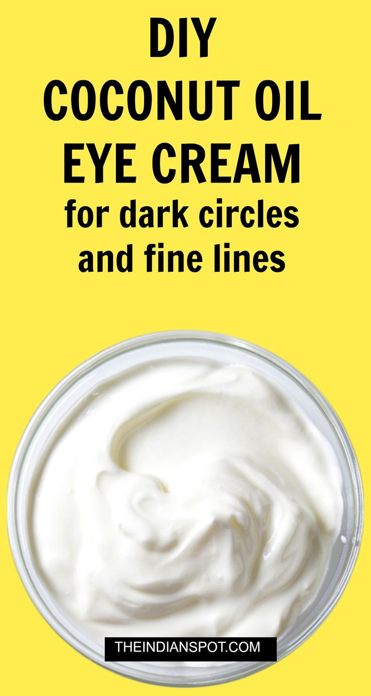 All natural Eye cream with oils for dark circles and fine lines                                                                                                                                                                                 More